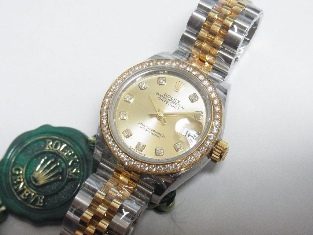 ロレックス・高価買取デイトジャスト 279383RBR大阪・神戸ブラント時計買取