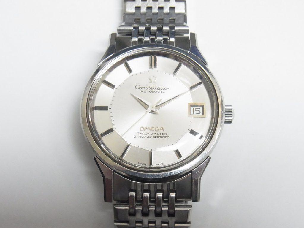 premium selection 54b6b a369d オメガ コンステレーション 168.0065 シルバー12角ダイヤル 高価 ...
