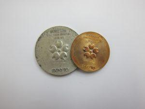 金 買取 大阪 神戸 万博記念メダル 金 K18 銀 SV925 EXPO'70 高額査定