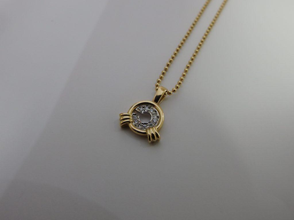 ノンブランド・メレダイヤモンドk18金ジュエリー高価買取・大阪神戸三宮