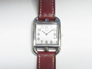 エルメス 時計 買取 大阪 神戸 ケープコッド ドゥブルトゥール 無料査定