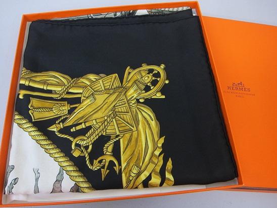 エルメス 買取 大阪 神戸 カレ シルクスカーフ カレ90 アパレル 高額査定