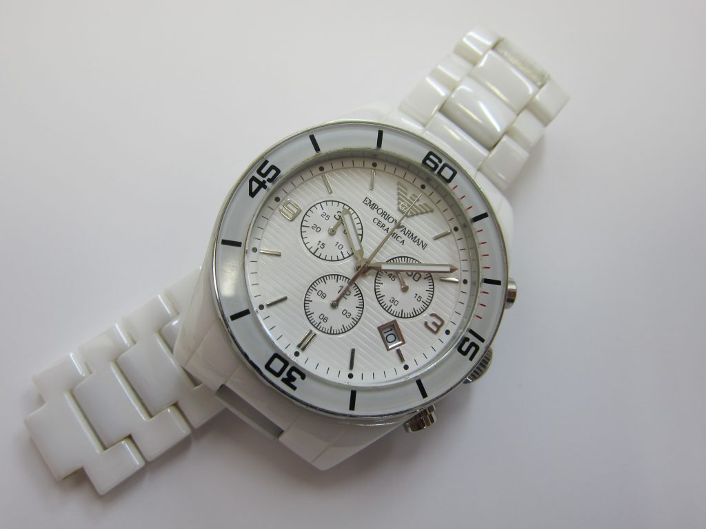 エンポリオアルマーニ クロノ 時計 AR1424 高価買取 大阪神戸