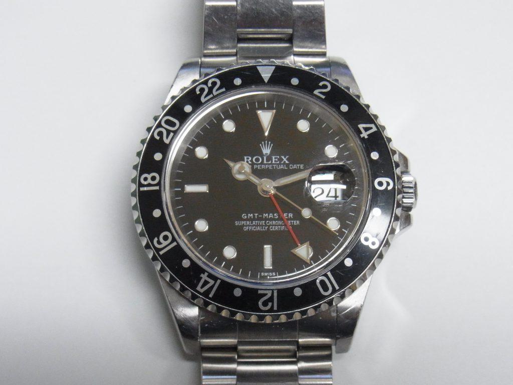 ロレックス 買取 大阪 神戸 GMTマスター 16700 黒/黒ベゼル 高額査定