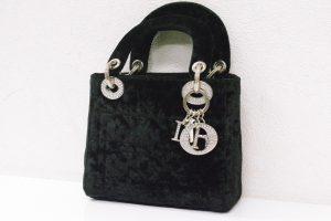 クリスチャン・ディオール(Dior )レディディオールラインストーン・ミニハンドバッグ・大阪神戸高価買取