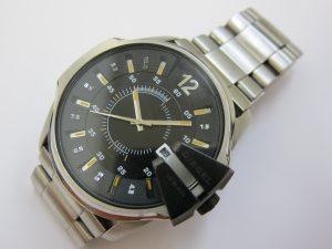 ディーゼル時計 マスターチーフ パックマンDZ-1208買取 大阪神戸