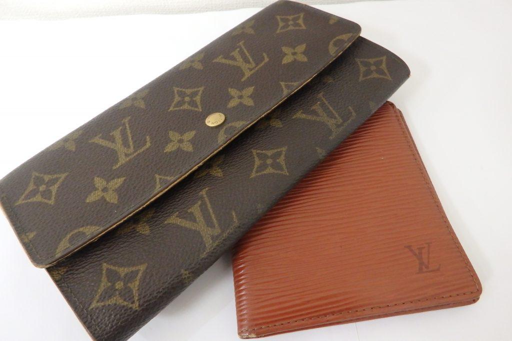 ルイヴィトン 古い財布 買取 ブランド財布高価買取