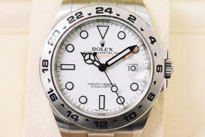 ロレックス 216570 白文字盤 エクスプローラー II高価買取 大阪神戸