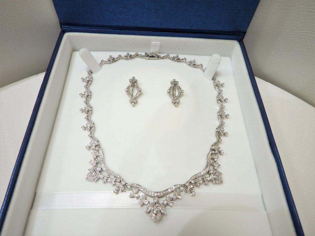 ダイヤモンドネックレス高価買取 豪華ジュエリー ダイヤモンド 買い取り 大阪神戸
