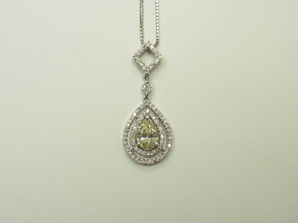 ダイヤモンド 高価買取 神戸 大阪 デザインジュエリー ライトイエロー