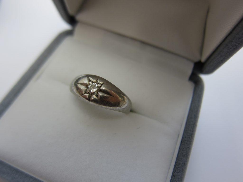 プラチナ ダイヤモンドリング 大阪神戸買取 デザインが古いリング 高価買取