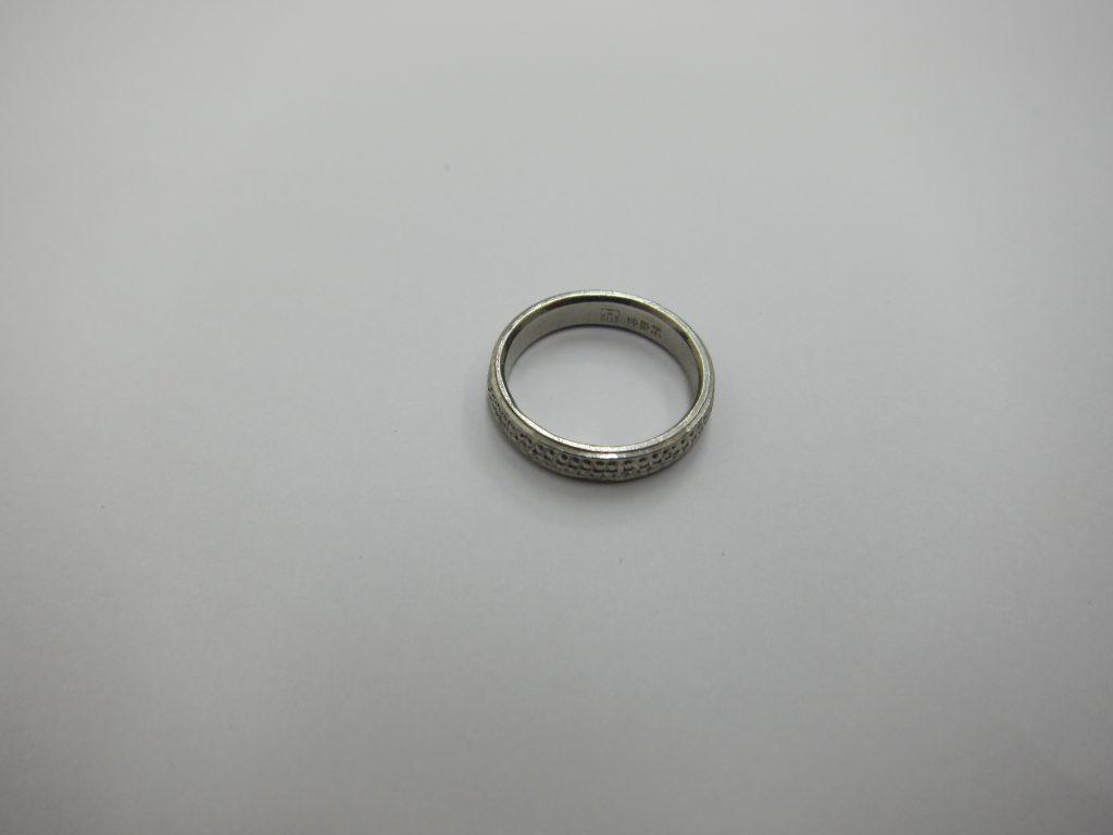 プラチナ 純白金 リング 大阪神戸 高価買取