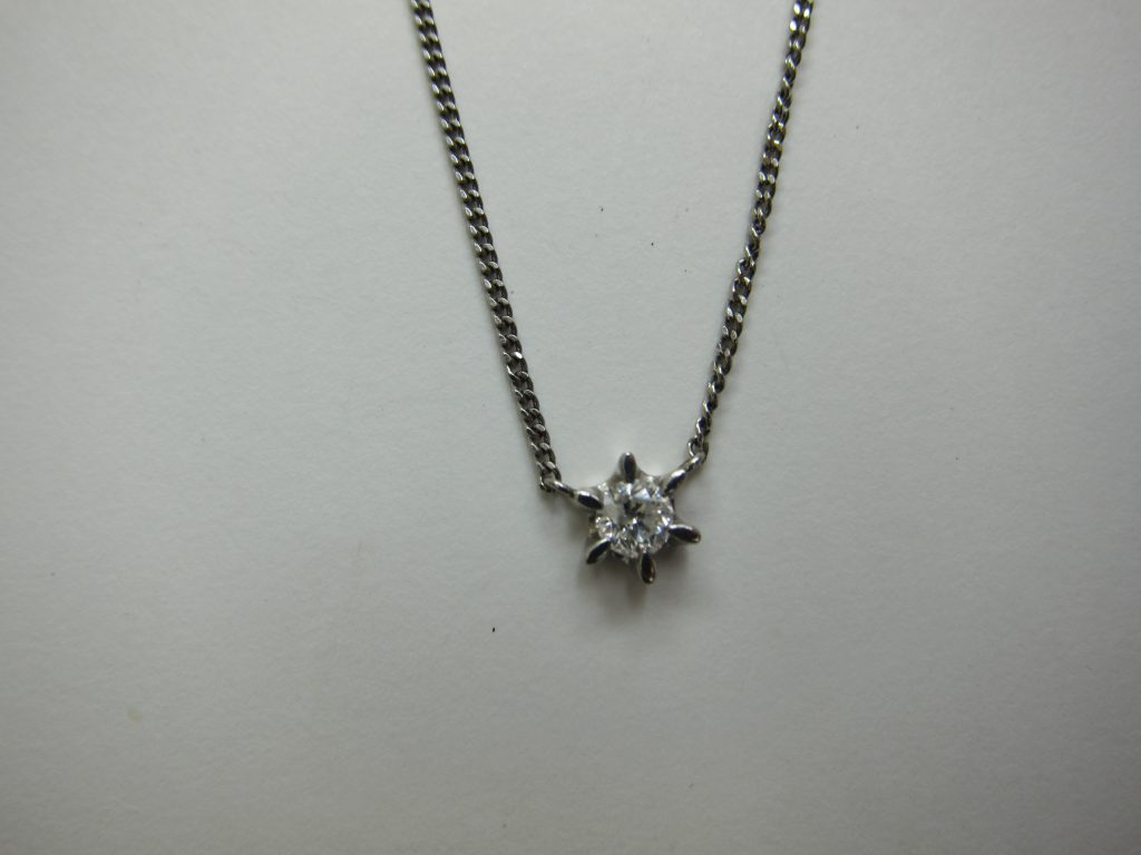 一粒 ダイヤモンド ラウンドカット 高価買取大阪神戸