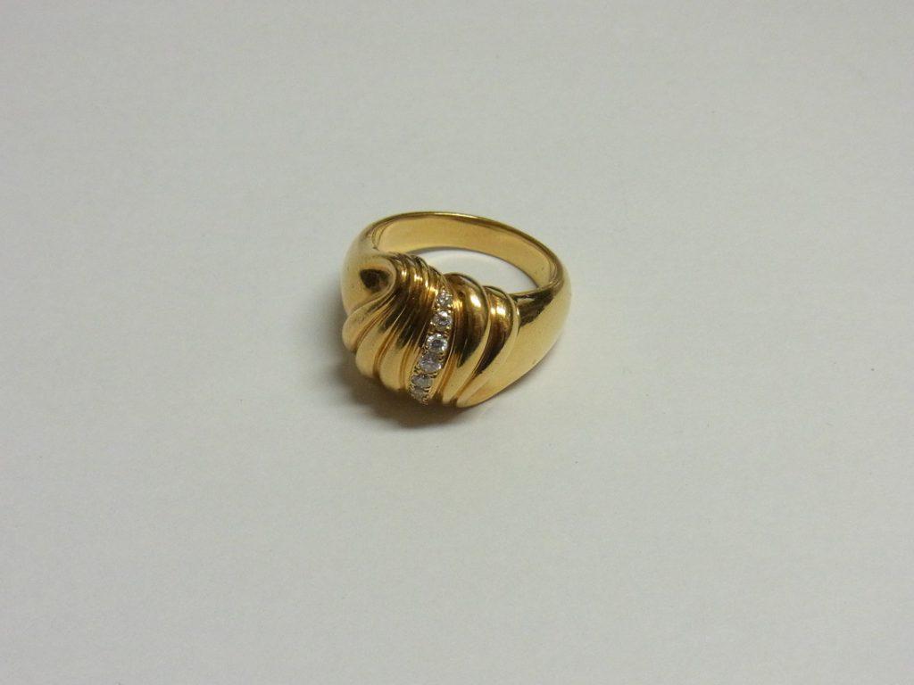金 買取 大阪 神戸 K18 リング 18金 指輪 750刻印 貴金属 無料査定