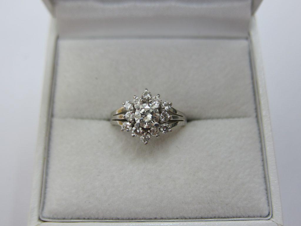 ダイヤモンドデザインリング 高価買取 宝石ジュエリー大阪神戸買取