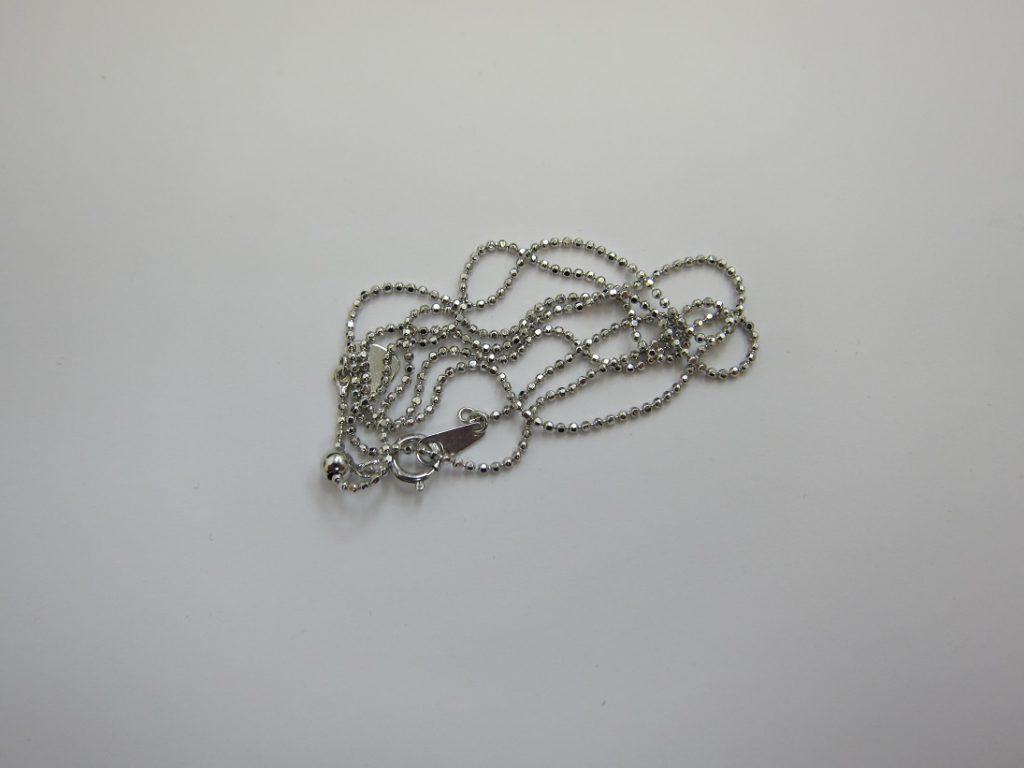 金 買取 神戸 大阪 K18WG 18金ホワイトゴールド ネックレス 無料査定