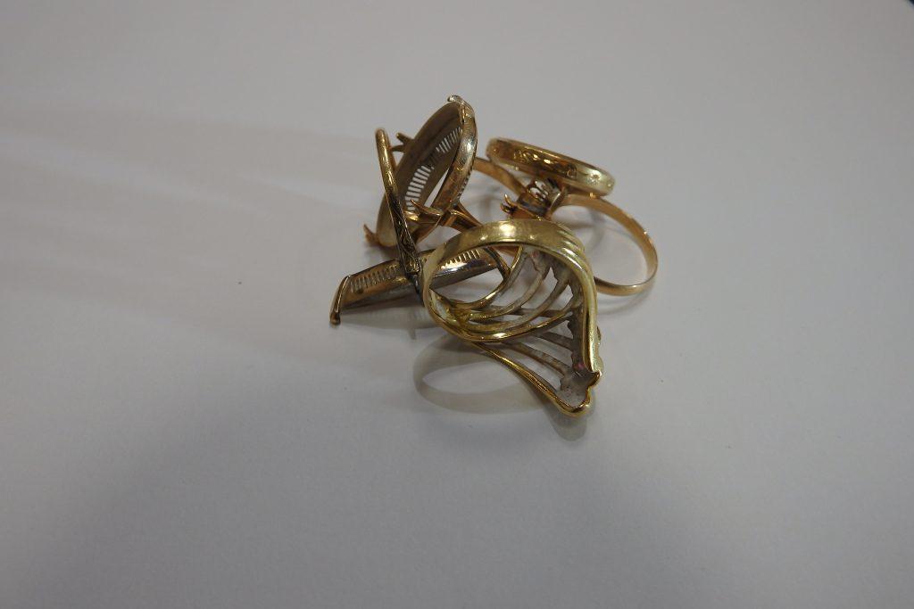 指輪 から枠 K18金 大阪神戸 貴金属高価買取