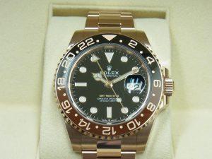ロレックス 時計 買取 大阪 神戸 GMTマスターⅡ 126715CHNR 高額査定