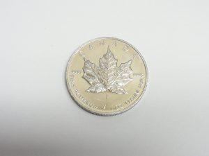 1オンス カナダメープル プラチナ 金貨 大阪神戸高価買取
