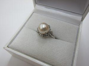 真珠リング ダイヤモンド 高価買取 大阪神戸
