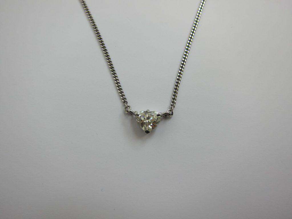 ダイヤモンド 買取 神戸 大阪 ハートシェイプ ベリーライトイエロー