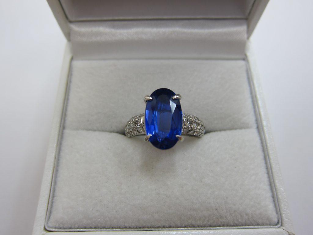 タンザナイトリング ダイヤモンド 買取 大阪神戸