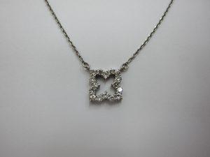 ダイヤモンドデザインネックレス 宝石ジュエリー 大阪神戸高価買取