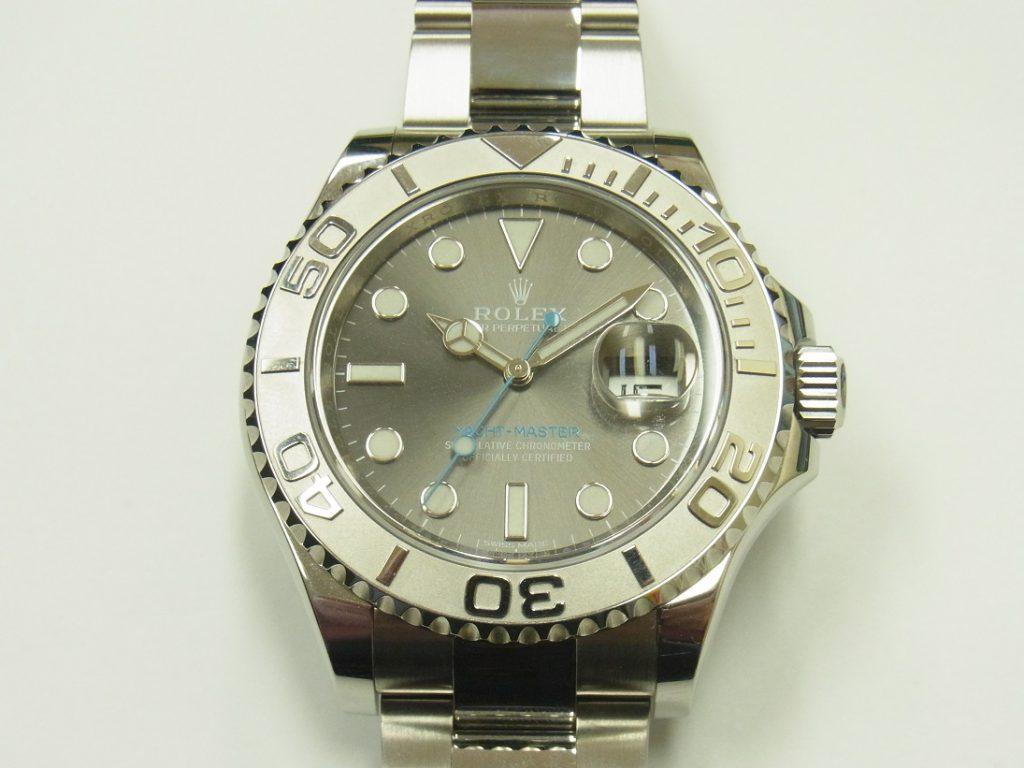 new style fd68d 8c442 ロレックス ヨットマスター40 116622 ダークロジウム文字盤 高価 ...