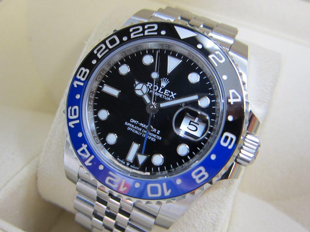 ロレックス 126710BLNR GMTマスター2 青黒ベゼル 大阪神戸高価買取