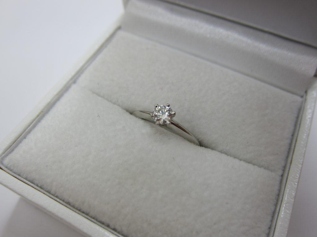 ブリリアントカット ダイヤモンドリング 宝石高価買取 大阪神戸