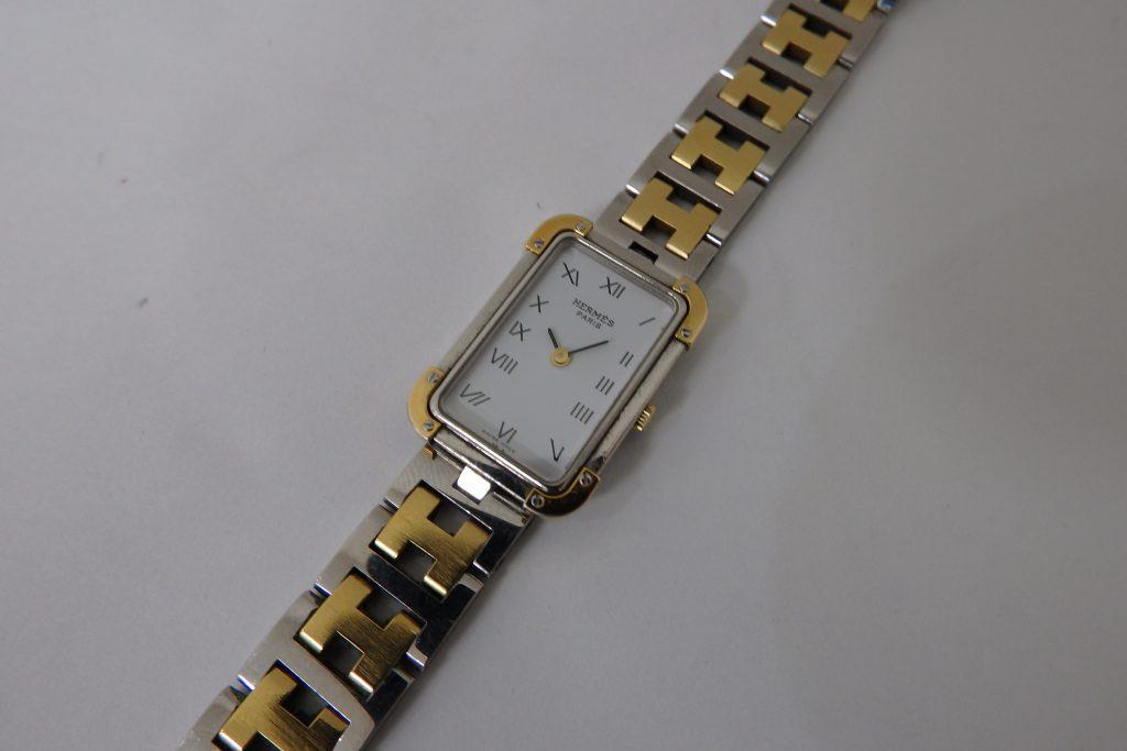 エルメス クロアジュール レディース時計 大阪神戸高価買取