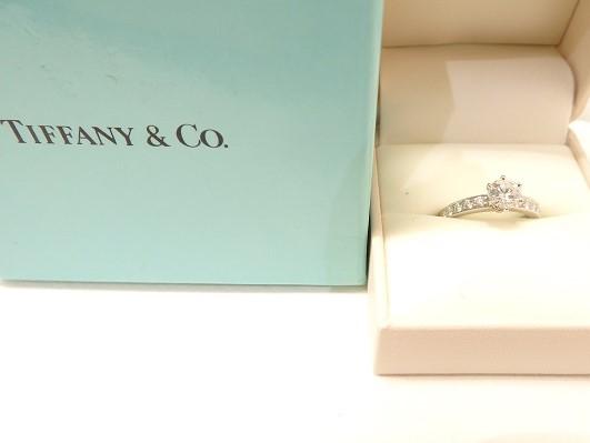 ティファニー ハーモニー 婚約指輪 ダイヤモンド 大阪神戸高価買取