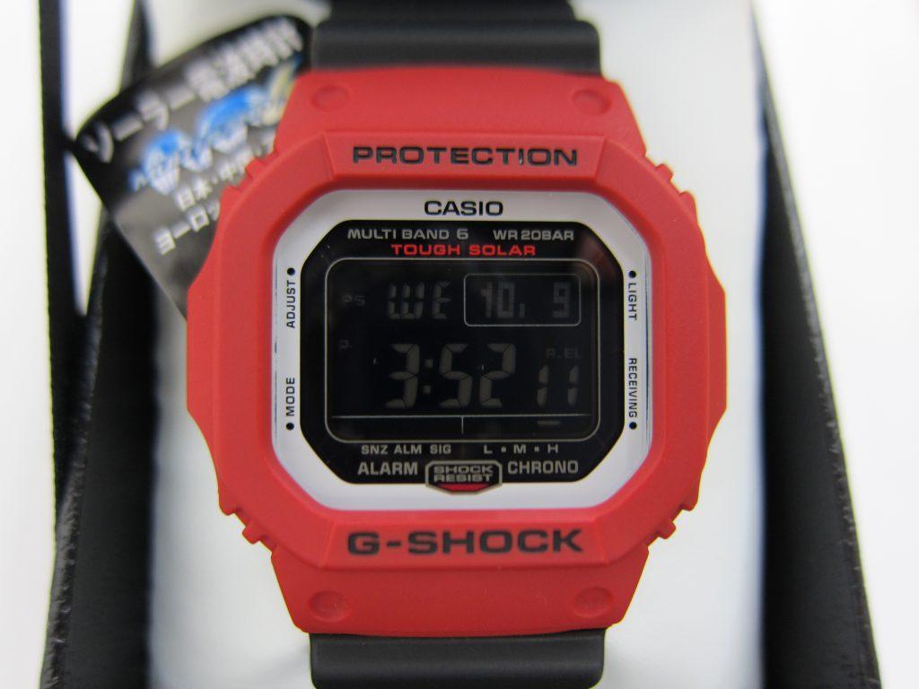 カシオ G-SHOCK GW-M5610RB-4JF 大阪神戸 高価買取