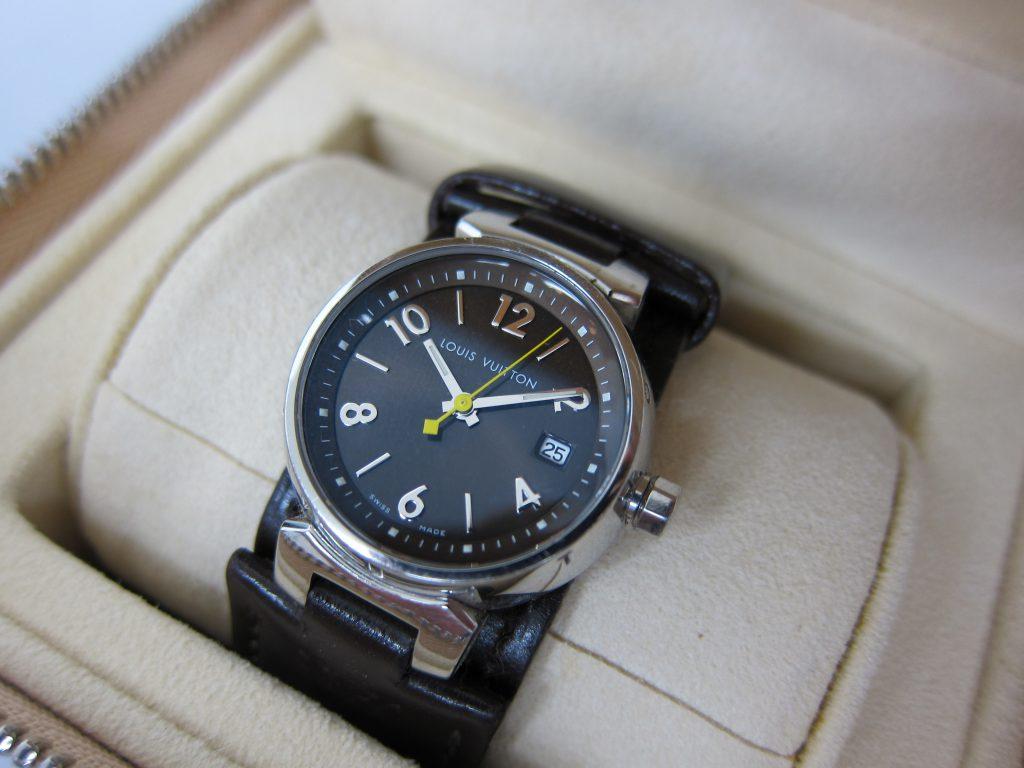 ルイ ヴィトン タンブール レディース 時計 Q12111 大阪神戸高価買取