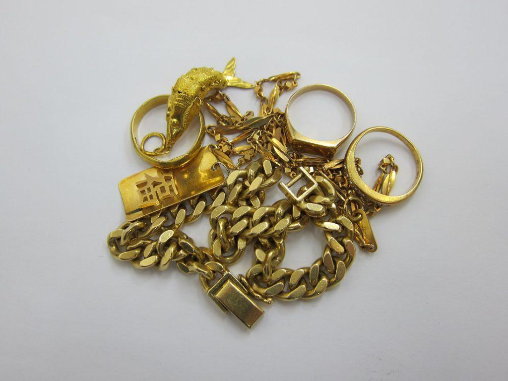 金 買取 大阪 神戸 K18 K24 貴金属 無料査定 国内金価格今年の最高値更新