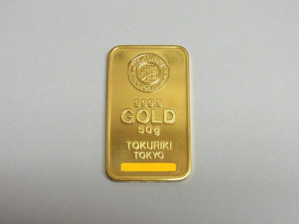 金 買取 神戸 大阪 K24 純金 ゴールドバー 土日祝もインゴット売却可能