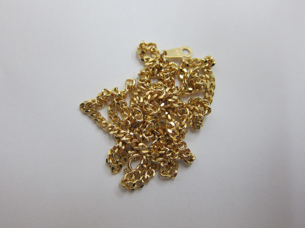 k18金ネックレス 30g喜平デザイン 大阪神戸買取