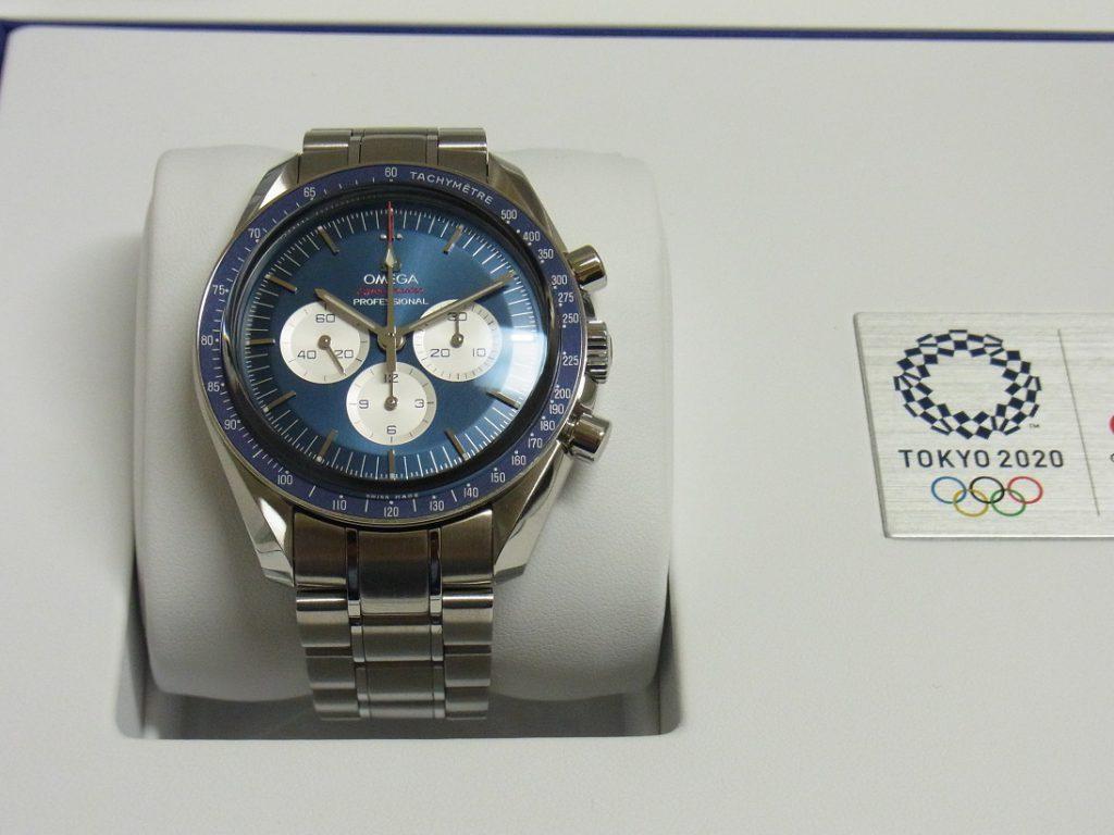 オメガ 買取 大阪 神戸 スピードマスター 東京2020 オリンピック ブルー