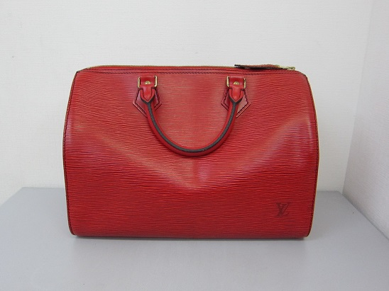 ルイヴィトン 高価買取 神戸 大阪 エピ スピーディ 赤 約30年前のバッグ