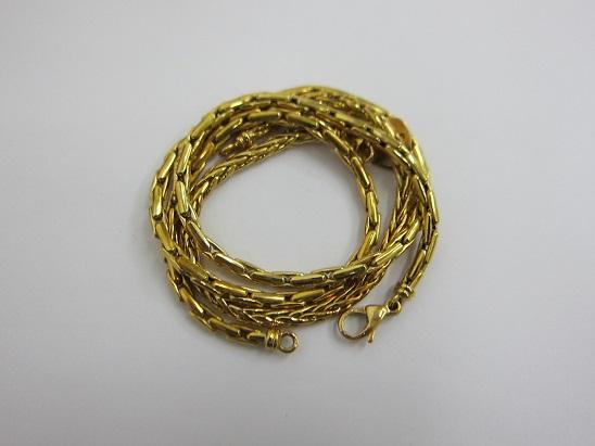 金 買取 神戸 大阪 K18 ゴールドジュエリー 750 鷲の頭 刻印 18金 貴金属