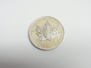 カナダ メイプルリーフプラチナコイン 31,1g 1oz 大阪神戸買取