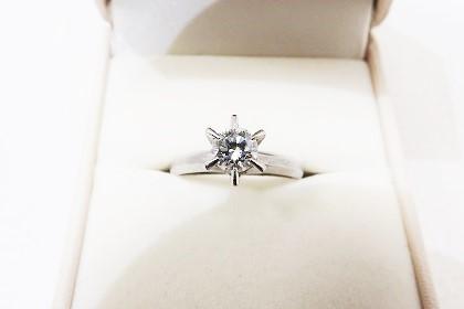 ダイヤモンド立て爪リング買取大阪神戸 結婚指輪・婚約指輪買取査定