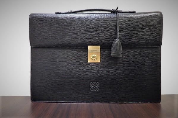 ロエベ アナグラムロゴ ビジネスバッグ買取大阪神戸