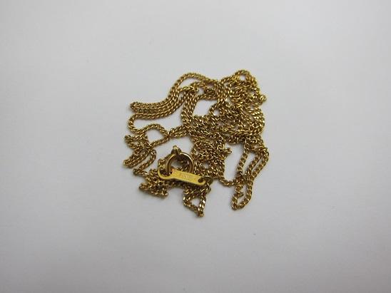 金 買取 大阪 神戸 K18 ネックレス 無料査定 国内金価格3桁上昇