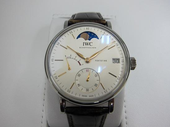 IWC 腕時計 高価買取 ポートフィノ ムーンフェイズ 査定 神戸 大阪