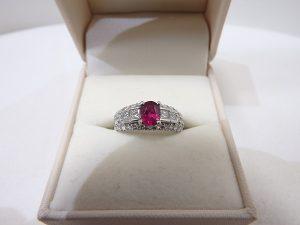 ルビーダイヤモンドリング 色石宝石ジュエリー 買取 大阪神戸