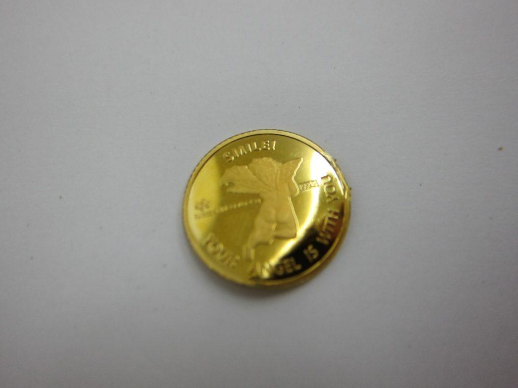 エンジェル 純金金貨 2.5gインゴットコイン 買取 大阪神戸