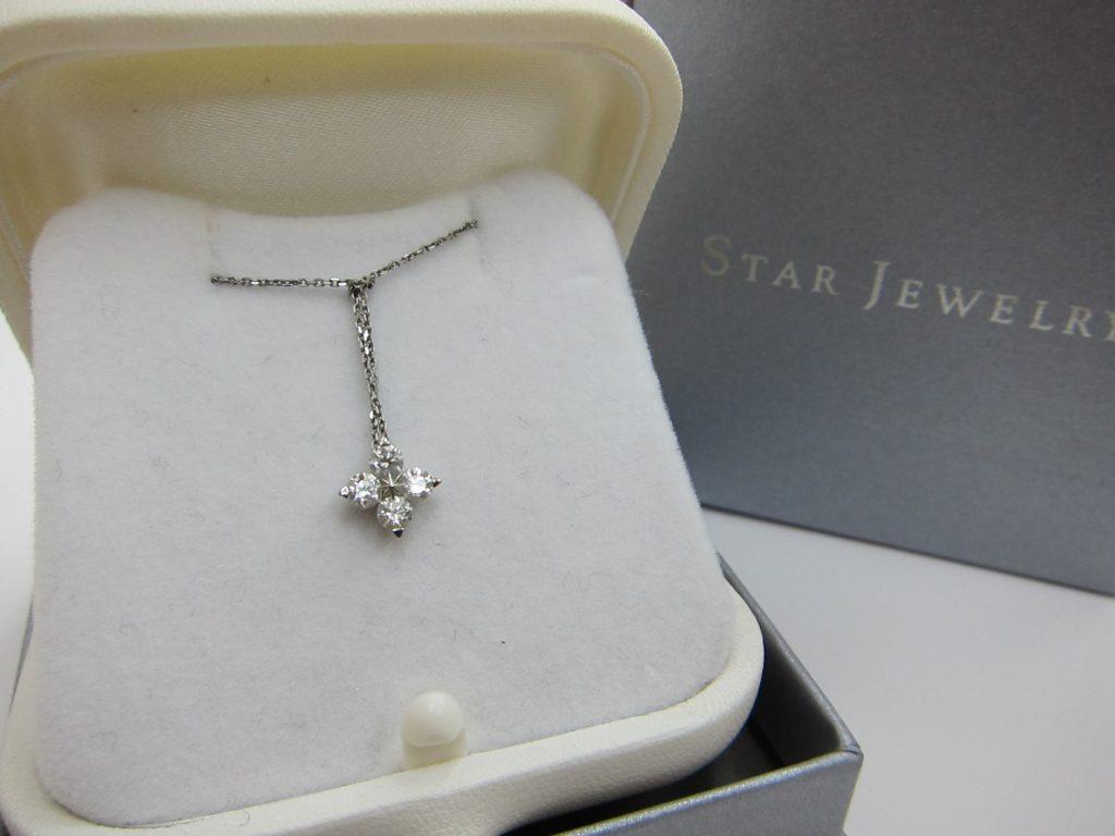 STAR JEWELRY ダイヤネックレス ブランドジュエリー買取 大阪神戸