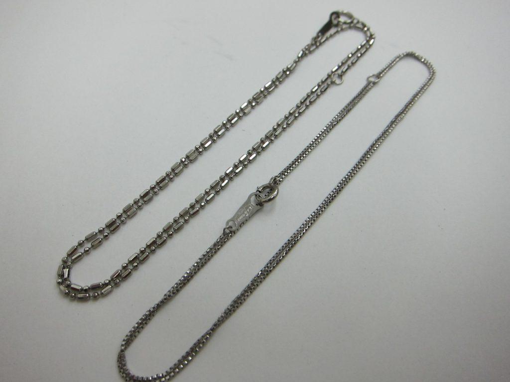 古いプラチナpt850ネックレス  金 プラチナ 買取 大阪神戸