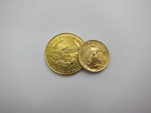 金 高価買取 K22 イーグル金貨 自由の女神 1/4oz 1/10oz コイン